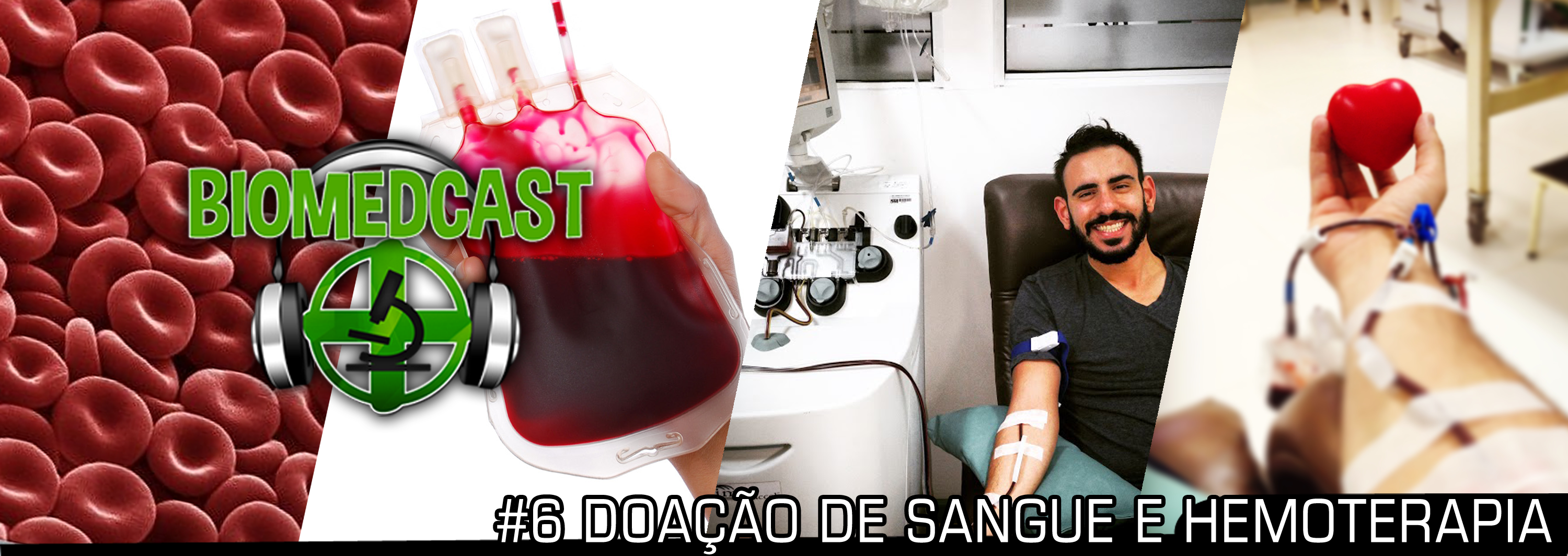 #6 Doação de Sangue e Hemoterapia – Entrevista com o biomédico Dr. Wallyd Kalluf Koury